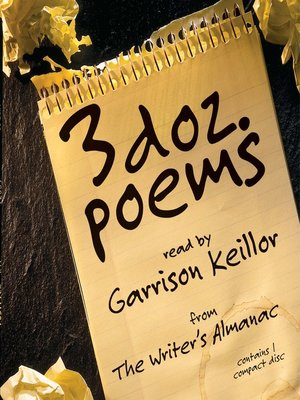 cover image of 3 Dozen Poems