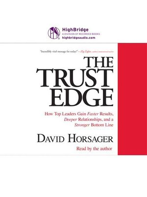 cover image of The Trust Edge