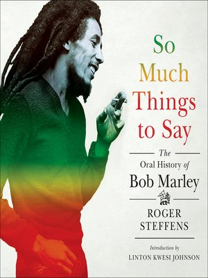 cover image of So Much Things to Say