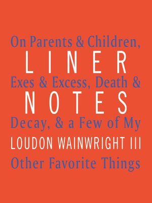 cover image of Liner Notes