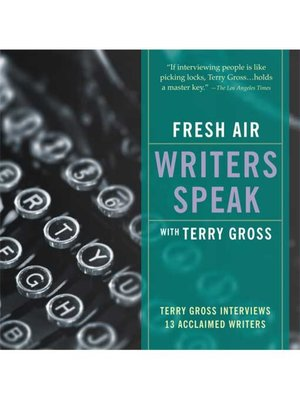 cover image of Fresh Air: Writers Speak