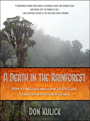 cover image of A Death in the Rainforest