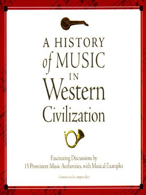cover image of A History of Music in Western Civilization