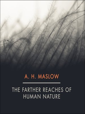 cover image of The Farther Reaches of Human Nature