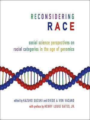 cover image of Reconsidering Race