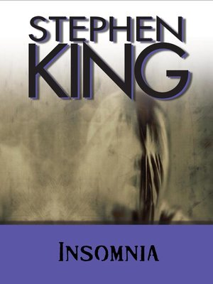 cover image of Insomnia
