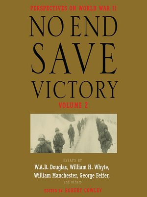 cover image of No End Save Victory Volume 2