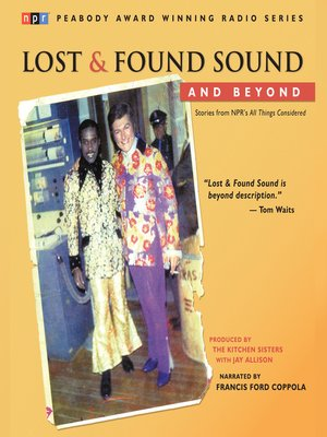 cover image of Lost and Found Sound and Beyond