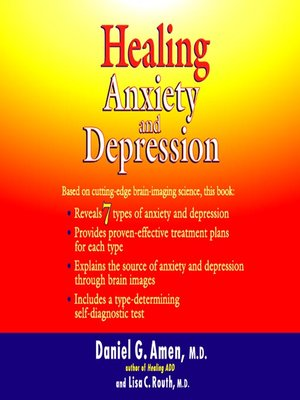 cover image of Healing Anxiety and Depression