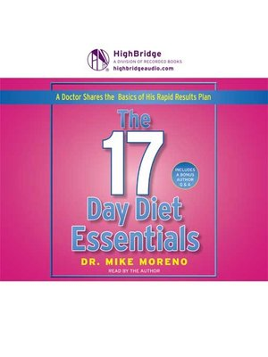 cover image of 17 Day Diet Essentials