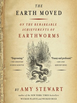 cover image of The Earth Moved