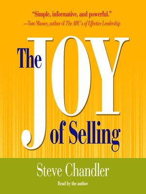 cover image of The Joy of Selling