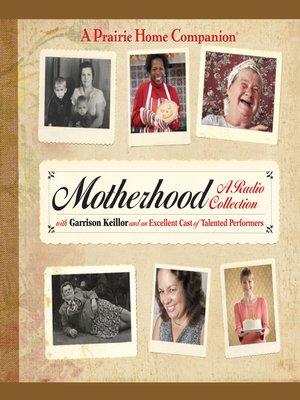 cover image of Motherhood