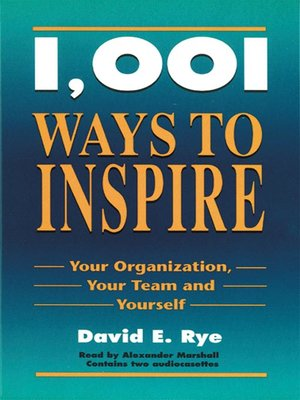 cover image of 1001 Ways to Inspire