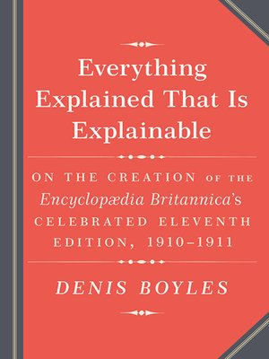 cover image of Everything Explained That Is Explainable