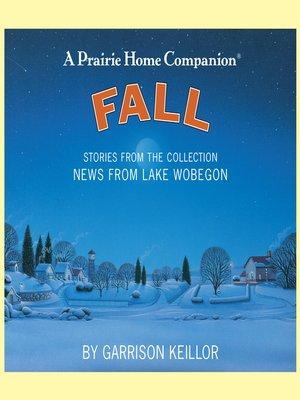 cover image of News from Lake Wobegon--Fall