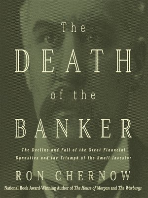 cover image of The Death of the Banker