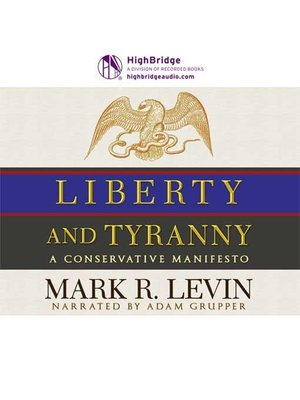 cover image of Liberty and Tyranny