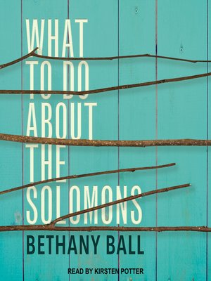 cover image of What to Do About the Solomons