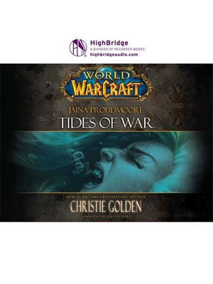 cover image of World of Warcraft: Jaina Proudmoore: Tides of War