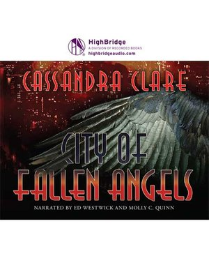 cover image of City of Fallen Angels