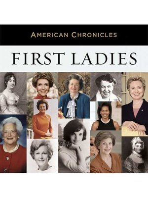 cover image of NPR American Chronicles--First Ladies