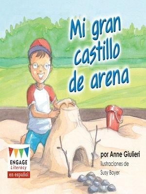 cover image of Mi gran castillo de arena