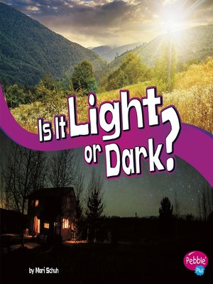 cover image of Is It Light or Dark?