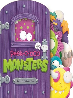 cover image of Peek-a-Boo Monsters