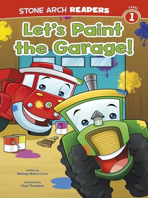 cover image of Let's Paint the Garage!
