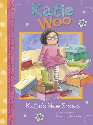 cover image of Katie's New Shoes