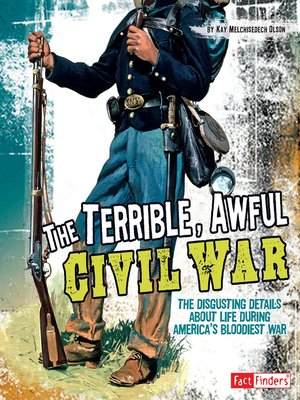 cover image of The Terrible, Awful Civil War