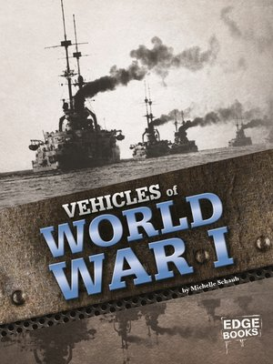cover image of Vehicles of World War I