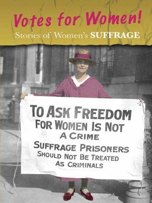 cover image of Stories of Women's Suffrage