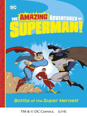 cover image of Battle of the Super Heroes!