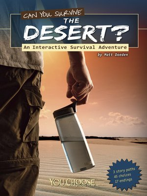 cover image of Can You Survive the Desert?