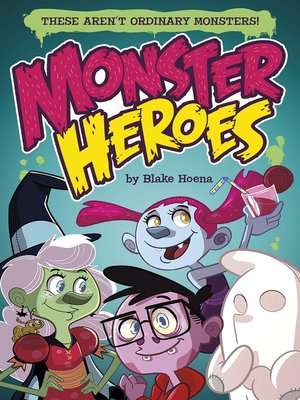cover image of Monster Heroes