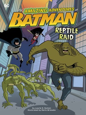cover image of Reptile Raid