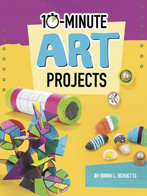 cover image of 10-Minute Art Projects