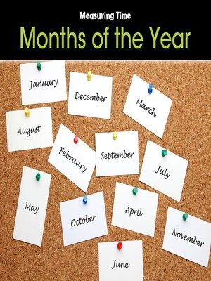 cover image of Months of the Year