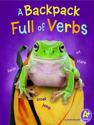 cover image of A Backpack Full of Verbs