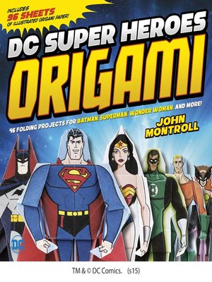 cover image of DC Super Heroes Origami