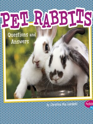 cover image of Pet Rabbits
