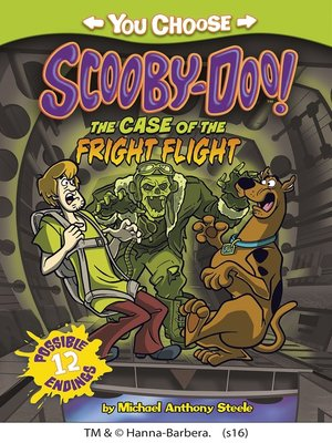 cover image of The Case of the Fright Flight