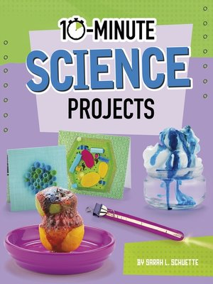 cover image of 10-Minute Science Projects