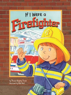cover image of If I Were a Firefighter