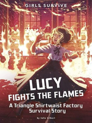 cover image of Lucy Fights the Flames