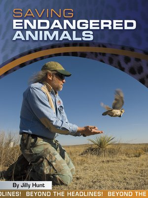 cover image of Saving Endangered Animals