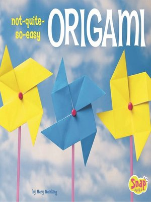 cover image of Not-Quite-So-Easy Origami