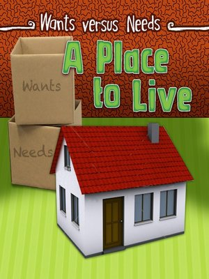 cover image of A Place to Live